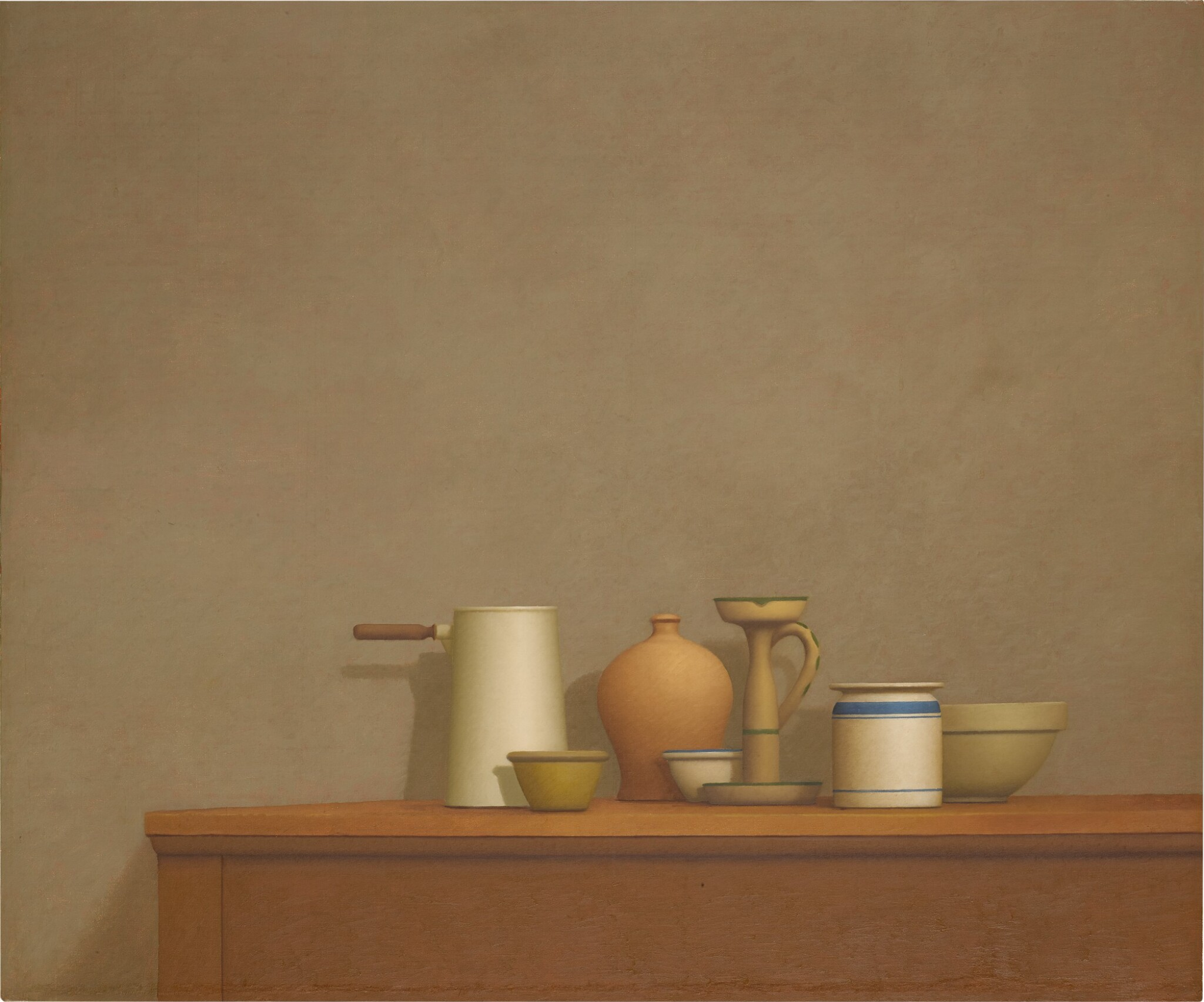 View 1 of Lot 108. Still Life with Seven Objects.