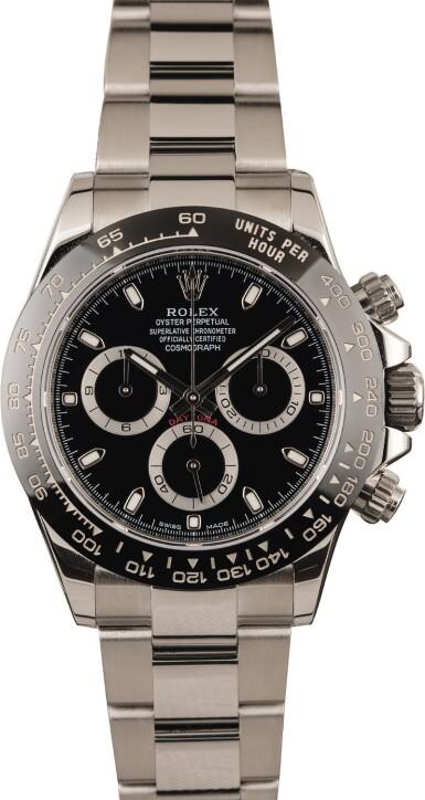 View 2. Thumbnail of Lot 10. ROLEX   Daytona, Ref. 116500LN, A Stainless Steel Chronograph Wristwatch with Bracelet, Circa 2018 .