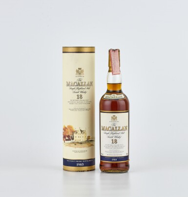 The Macallan 18 Year Old 43.0 abv 1985 (1 BT70)