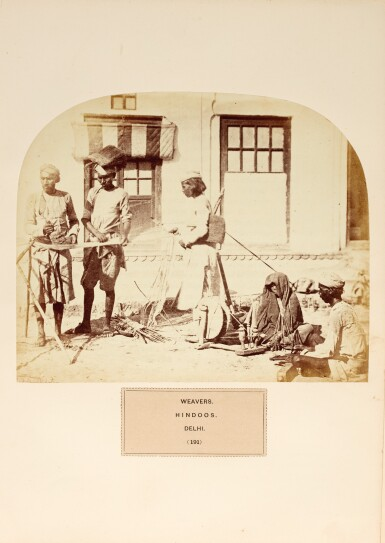 View 3. Thumbnail of Lot 307. Watson and Kaye | The People of India, 1868-1875.