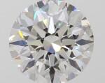 A 1.00 Carat Round Diamond, H Color, SI2 Clarity
