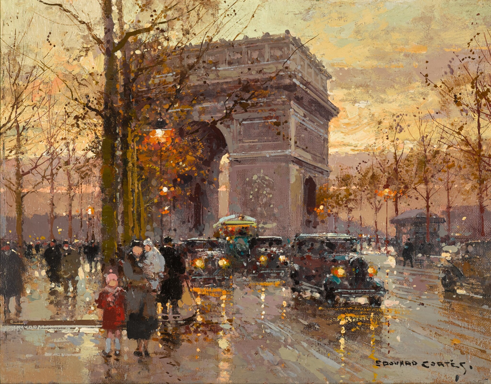 View full screen - View 1 of Lot 167. L'Arc de Triomphe.