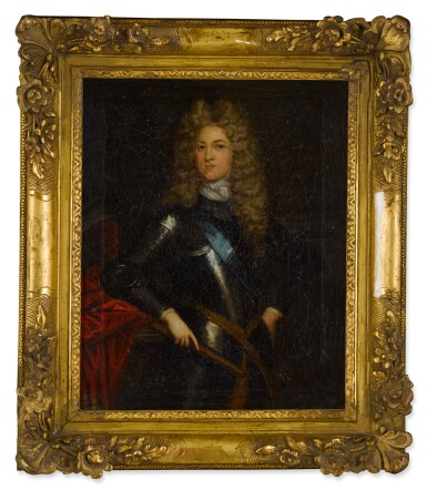 View 3. Thumbnail of Lot 110. Portrait of a Gentleman, possibly John Churchill, First Duke of Marlborough (1650-1722).