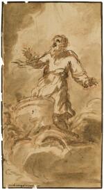 Elijah in the Fiery Chariot