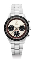 ROLEX | PAUL NEWMAN DAYTONA, REFERENCE 6241, A STAINLESS STEEL CHRONOGRAPH WRISTWATCH, CIRCA 1968