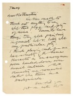 M. ROTHENSTEIN   archive of c.95 letters by artists and writers to Rothenstein, chiefly 1940s