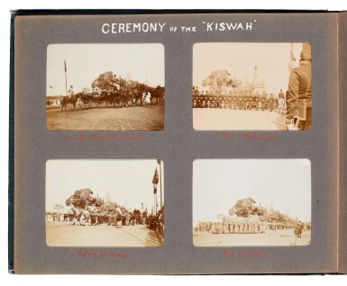 View 6. Thumbnail of Lot 95. Egypt | Album of 144 photographs of scenes in and around Cairo, 1907-8.