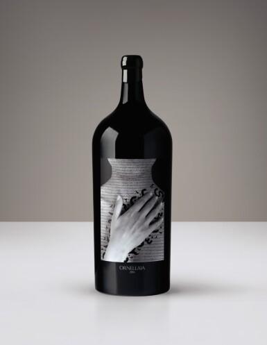 1 SALMANAZAR (9L) ORNELLAIA, VENDEMMIA D'ARTISTA, 'LA TENSIONE' BY SHIRIN NESHAT, 2016  WITH VISIT, STAY & DINNER AT ORNELLAIA FOR 6