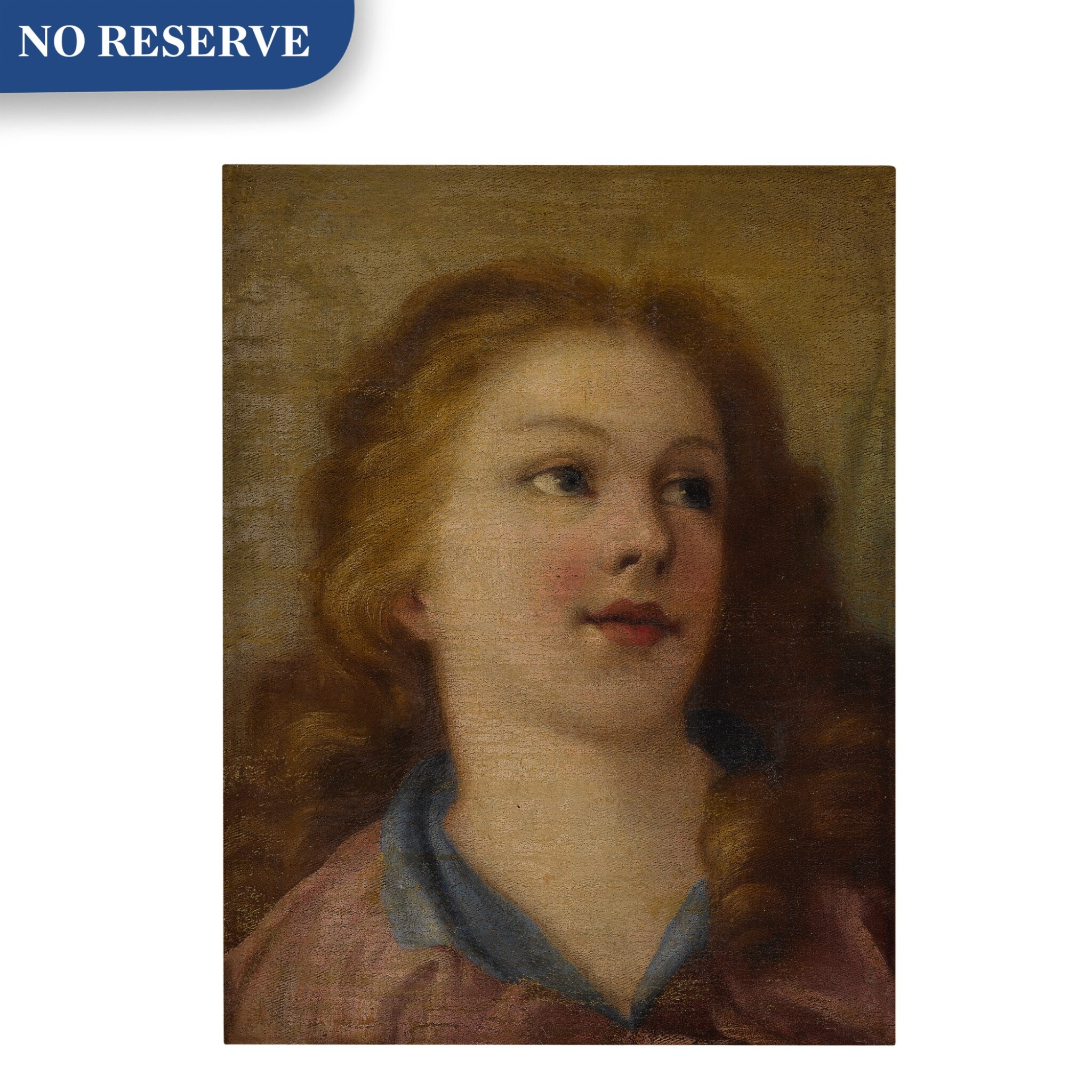 View full screen - View 1 of Lot 585. Head of a young girl.