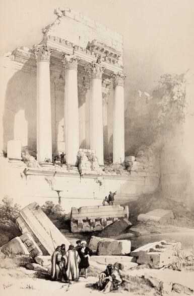 View 4. Thumbnail of Lot 132. David Roberts |The Holy Land, Syria, Idumea, Arabia, 1842-1849, 6 volumes.
