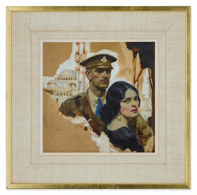 View 2. Thumbnail of Lot 88. Untitled (Soldier and Woman).