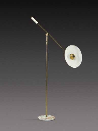 View 3. Thumbnail of Lot 184. Floor lamp.