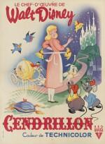 Cinderella / Cendrillon (1950) poster, French