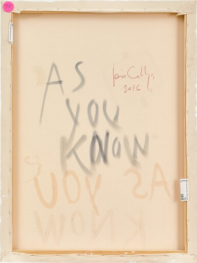View 2. Thumbnail of Lot 102. Javier Calleja 哈維爾·卡勒加   As You Know 如你所知.