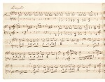 W. A. Mozart---E. A. Förster. Scribal copy of the Variations on a Theme by Sarti, K. Anh.289 (Anh.C 26.06), late C18th?