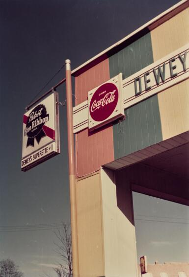 WILLIAM EGGLESTON | UNTITLED (DEWEY), 1982