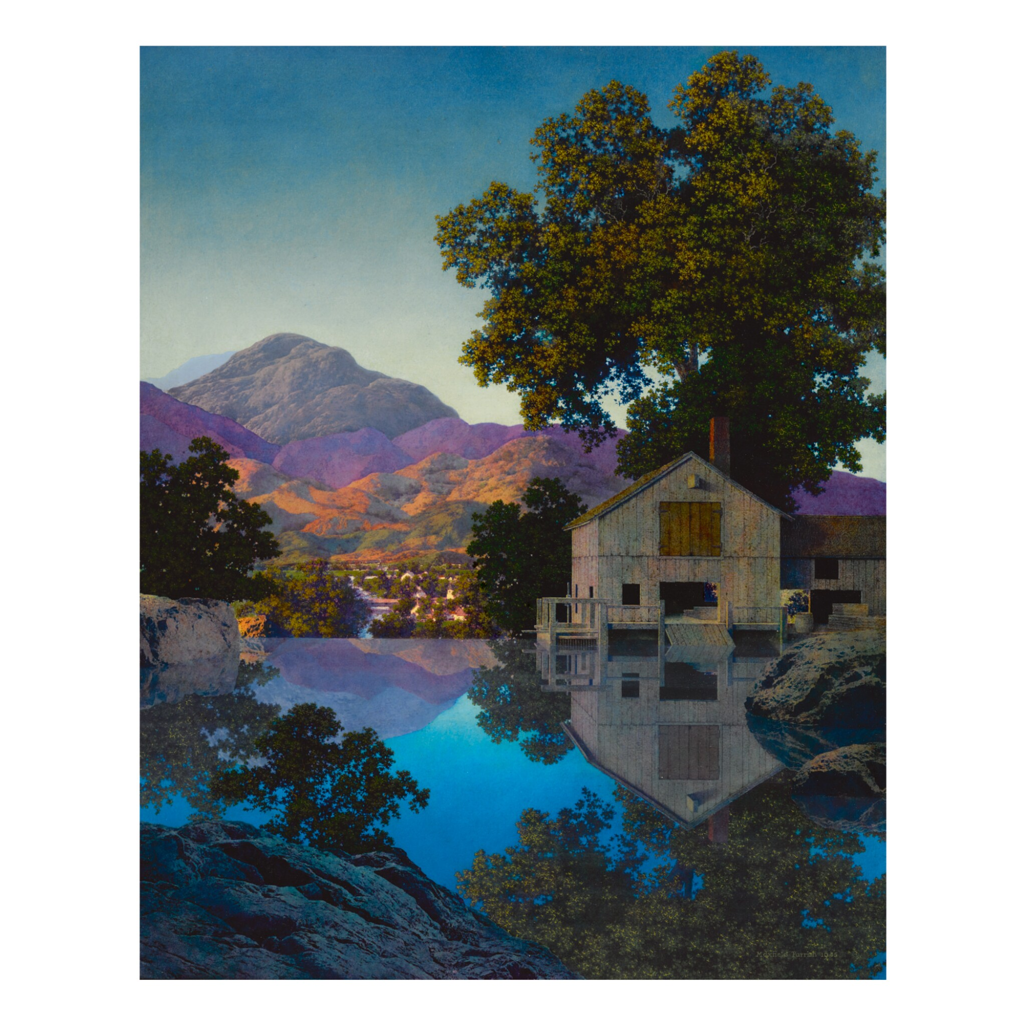 View full screen - View 1 of Lot 6. MAXFIELD PARRISH | MILL POND.