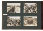 First World War, four albums of 962 photographs, [early twentieth century]