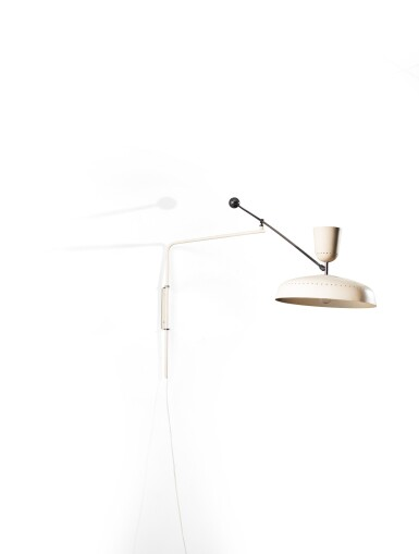 View 3. Thumbnail of Lot 8. G1 wall light, designed in 1951.