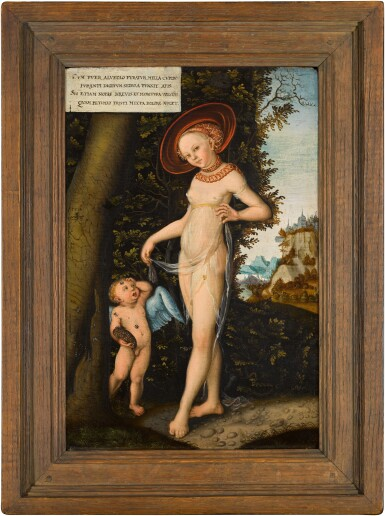View 2. Thumbnail of Lot 15. Venus with Cupid stealing honey | 《採蜜的維納斯與丘比特》.