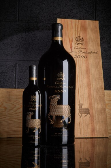 View 1. Thumbnail of Lot 339. Château Mouton Rothschild 2000  (12 BT).