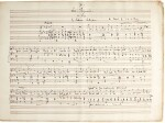 """C.H.H. Parry. Autograph manuscript of a """"Garland"""" of six Shakespearean and other songs, Op.21, 1873"""