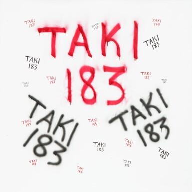 View 1. Thumbnail of Lot 43. TAKI 183 | UNTITLED.