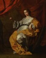 ANTONIO DE BELLIS   Saint Catherine of Alexandria   安東尼奧・德・貝利斯  《亞歷山大的聖加大肋納》