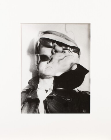 View 2. Thumbnail of Lot 8. Weegee   Andy Warhol Distortion, c. 1965.