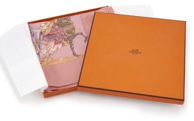 Printed silk scarf 'Turqueries en l'Honneur de Mr. T', Hermès