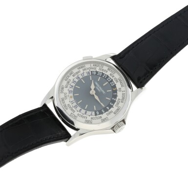 View 6. Thumbnail of Lot 58. REFERENCE 5110P-001 A PLATINUM AUTOMATIC WORLD TIME WRISTWATCH, CIRCA 2002.