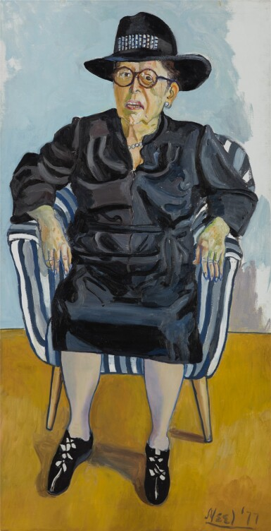 View full screen - View 1 of Lot 18.  ALICE NEEL | LILLY BRODY.