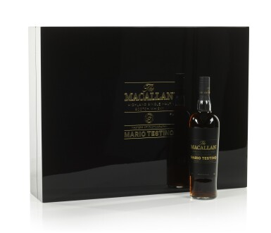 View 2. Thumbnail of Lot 7. The Macallan Mario Testino Masters Of Photography, Six Pillars, Full Collection (4 bts 70cl & 24 bts 5cl).