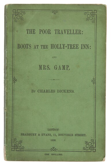 Dickens, The Poor Traveller, 1858, reading edition
