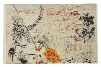 View 12. Thumbnail of Lot 79. Pages choisies de Don Quichotte de la Manche (Michler/Löpsinger 1001-1012; Field 57-1).