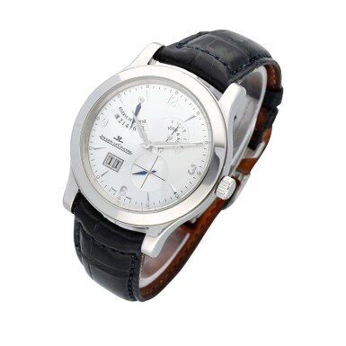 View 2. Thumbnail of Lot 52. Master Antoine LeCoultre reference 146.6.17 A platinum manual winding wristwatch with day/night indicator, 8 day power reserve and date, circa 2009.