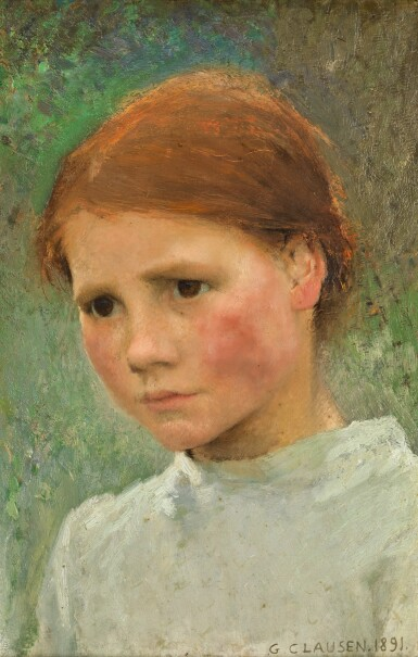 View 1. Thumbnail of Lot 1. Portrait of a Child, Rose Grimsdale.