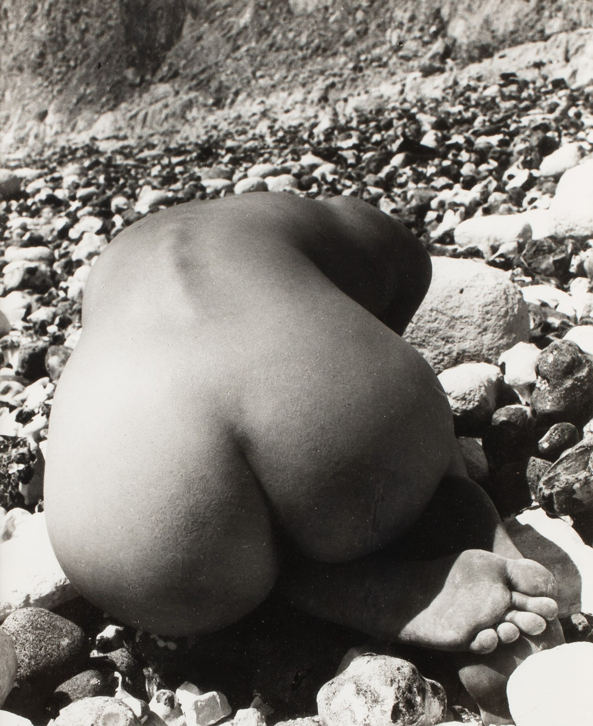 View full screen - View 1 of Lot 31. BILL BRANDT | NUDE & STONES (EAST SUSSEX), 1978.
