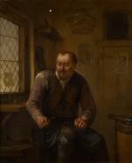 EGBERT VAN HEEMSKERCK THE ELDER | A cobbler at his workbench