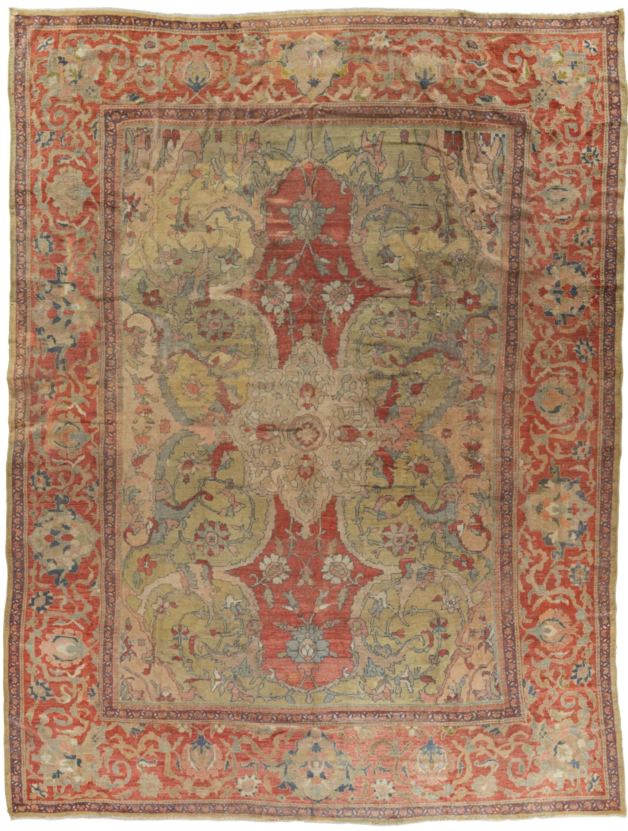 View full screen - View 1 of Lot 94. A 'ZIEGLER' MAHAL CARPET, NORTHWEST PERSIA.