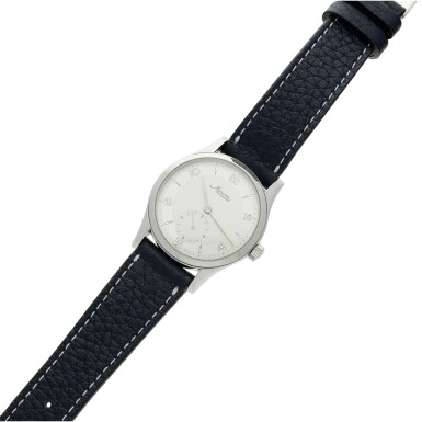 View 5. Thumbnail of Lot 115. Reference 48772 A stainless steel wristwatch, Circa 1997.