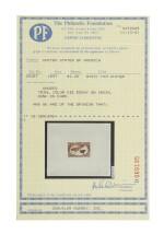 Trans-Mississippi 1898 $1.00 Dusky Red Orange, Large Die Essay on India, Vignette Only (292-E7)