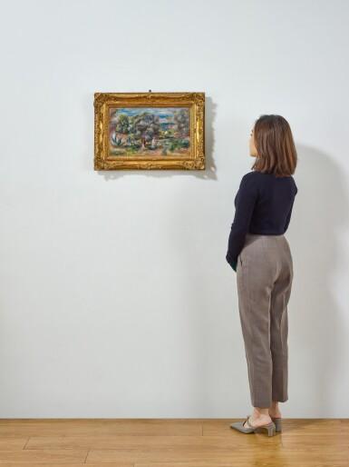 View 4. Thumbnail of Lot 1016. Pierre-Auguste Renoir 皮耶・奧古斯特・雷諾瓦   Aloès, la cueillette à Cagnes 卡涅蘆薈採摘.