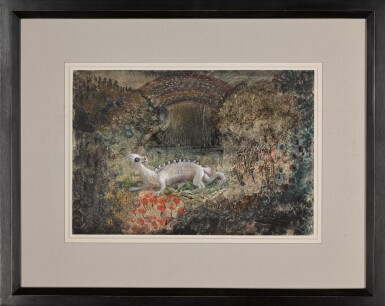 View 2. Thumbnail of Lot 10.  ALFRED KUBIN | FABELWESEN (MYTHICAL CREATURE).