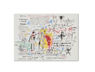 尚・米榭・巴斯基亞 Jean-Michel Basquiat | 拳擊手謀反 Boxer Rebellion