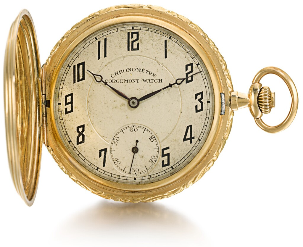 SWISS | TWO GOLD WATCHES  CIRCA 1860 AND 1920