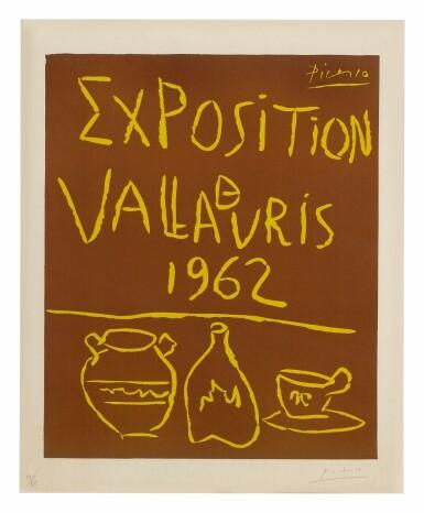 View 1. Thumbnail of Lot 5. PABLO PICASSO | EXPOSITION DE VALLAURIS 1962 (B. 1299; BA. 1335).