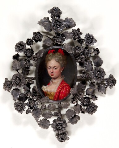 View 1. Thumbnail of Lot 99. Portrait of a lady.