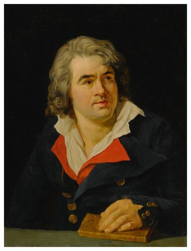 View 1. Thumbnail of Lot 659. Portrait of D. F. Desrues.