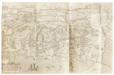 View 2. Thumbnail of Lot 7. MONTANUS. Antiquitatum iudicarum libri IX. Leyde, 1593. In-4 Rel. de l'époque à froid. 1ère et seule éd. séparée .